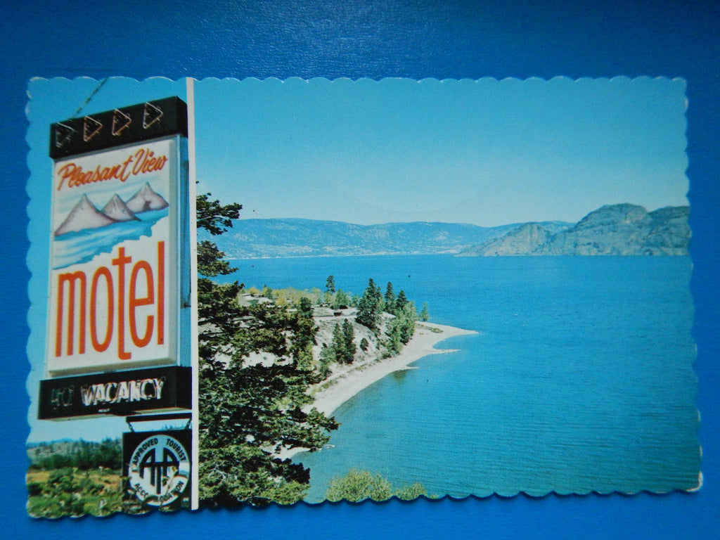 Canada - Summerland, BC - Pleasant View Motel - RP0010