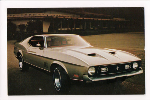 Car Postcard - Mustang Mach I (1971) - Ford - 800904