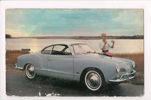 Car Postcard - KARMANN GHIA - Volkswagen - B05212