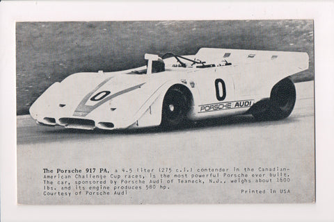Car Exhibit Card - 917 PA (Porsche Audi) - Porsche, race car - B05260