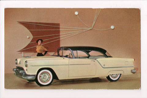 Car Postcard - Oldsmobile SUPER 88 HOLIDAY COUPE, dealer card - B06749