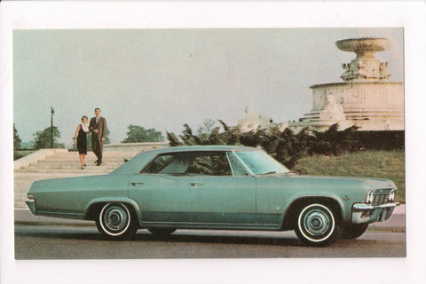 Car Postcard - IMPALA SEDAN (1965) - Chevrolet - 4 door Sport - B06752