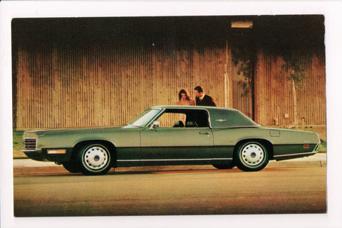 Car Postcard - LANDAU (1971) - Thunderbird 2 Door - D08029