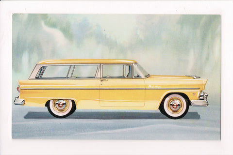 Car Postcard - RANCH WAGON (1955) - Ford - MB0174