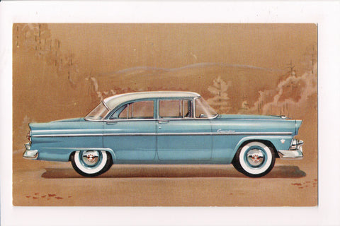 Car Postcard - CUSTOMLINE FORDOR SEDAN (1955) - FORD - MB0175