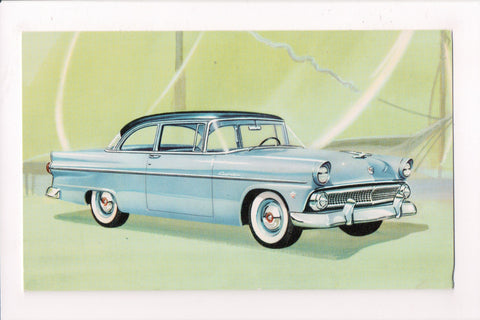 Car Postcard - CUSTOMLINE TUDOR SEDAN (1955) - Ford - MB0176