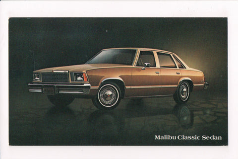 Car Postcard - MALIBU CLASSIC SEDAN (1978) - Chevrolet - VT0264