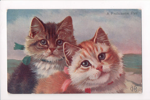 Animal - Cat or cats - A FROLICSOME PAIR (ONLY Digital Copy Avail) - A06765