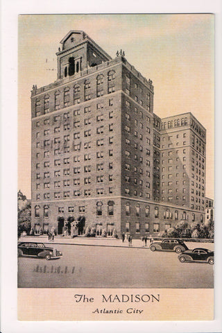 NJ, Atlantic City - Madison Hotel postcard - D06216