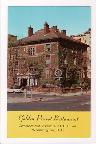 DC, Washington - Golden Parrot Restaurant on Connecticut Ave - B08028