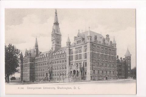 DC, Washington - Georgetown University postcard - CP0244