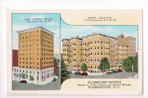 DC, Washington - Hotel Grafton, New Ebbitt Hotel - CP0247