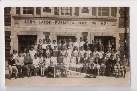 DC, Washington - John Eaton Public School No 160, students - RPPC - CP0358