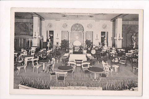 DC, Washington - The Mayflower Cocktail Lounge, @1937 postcard - F09138