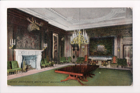 DC, Washington - State Dining Room - I and M Ottenheimer - Metrochrom - J06137
