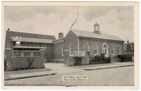 DE, New Castle - Post Office built 1928 - R00789