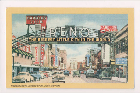 NV, Reno - Harolds Club, Nevada Club, Monarc_ Cafe etc - E17081