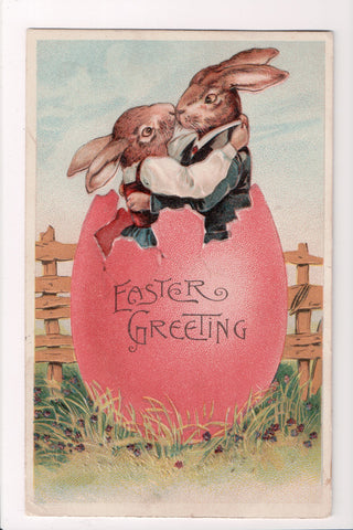 Easter - Anthropomorphic, Rabbits kissing (ONLY Digital Copy Avail) - C17269
