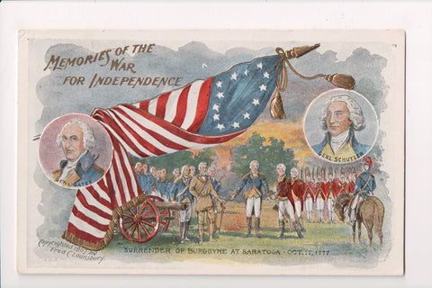 4th of July - Memories of the War for Independence / Gates and Schuyler - 800887
