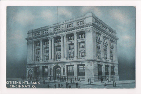 OH, Cincinnati - Citizens National Bank - vintage postcard - G03118