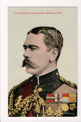 Misc Military - Lord Kitchener, Minister of War for Great Britain - G17107