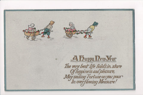 New Year - A Happy New Year - Tuck, Series No N5901 - C08659