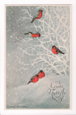 New Year - Gott Nytt Ar -Swedish card - Jenny Nystrom - sw0233