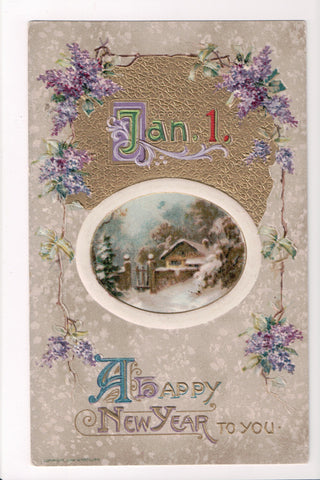 New Year - A Happy New Year - Winsch, 1910 - sw0280