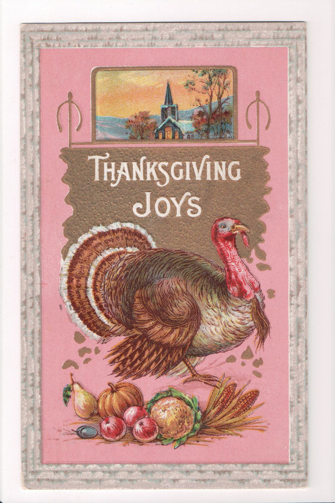Thanksgiving - Joys postcard - Samson Bros - B05125