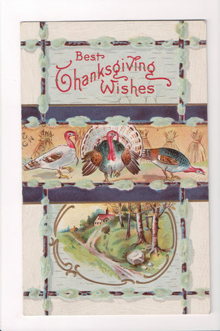 Thanksgiving - Best Thanksgiving Wishes postcard - w04731