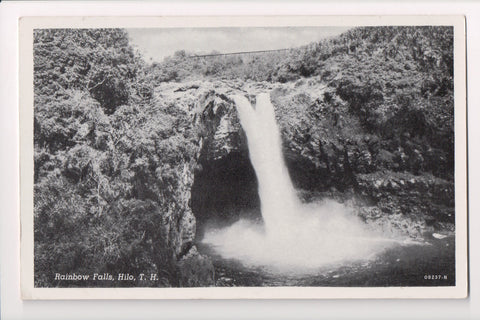 HI, Hilo - Rainbow Falls - T H (Territory of Hawaii) postcard - w02502