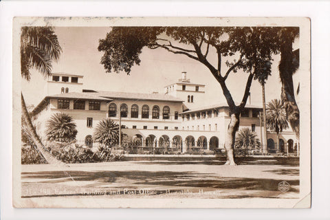 HI, Honolulu - Post Office and Federal Building - RPPC postcard - B06079