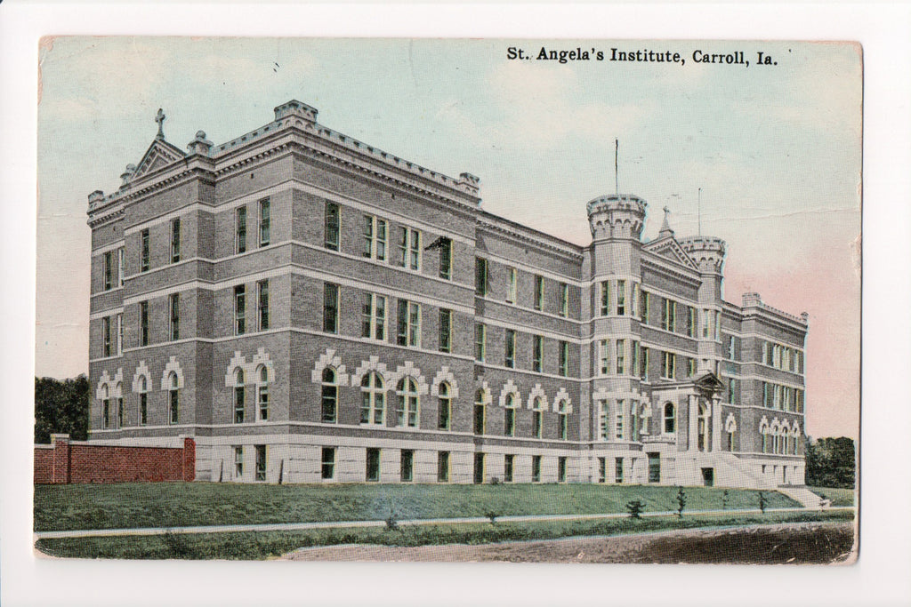 IA, Carroll - St Angelas Institute postcard - J04011