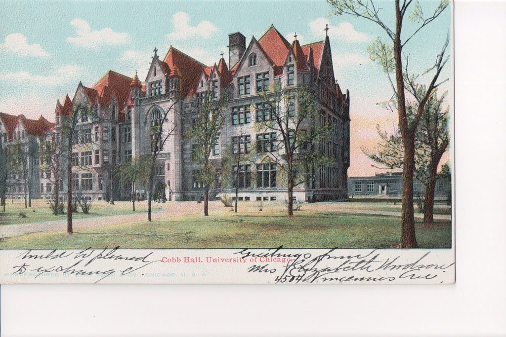 IL, Chicago - University of Chicago, Cobb Hall (ONLY Digital Copy Avail) - A12260