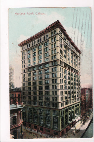 IL, Chicago - Ashland Block postcard - B17280