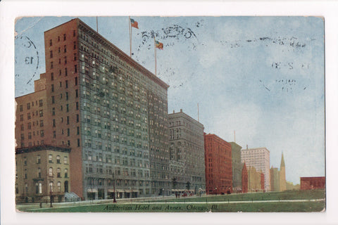 IL, Chicago - Auditorium Hotel and Annex - I04089