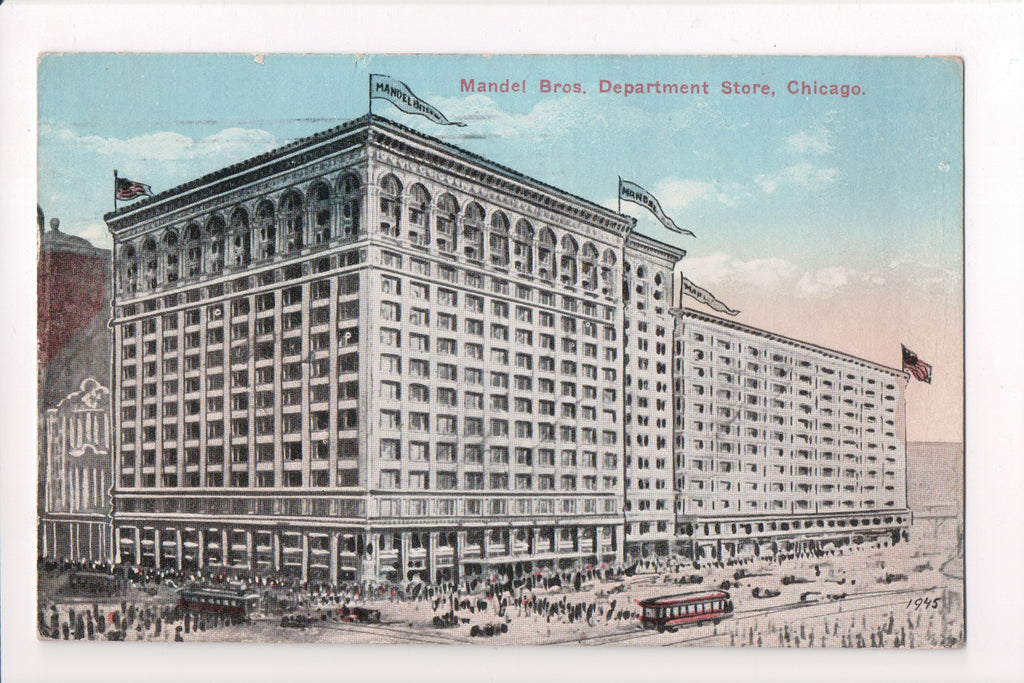 IL, Chicago - Mandel Bros Department Store, Gerson Bros - B06179