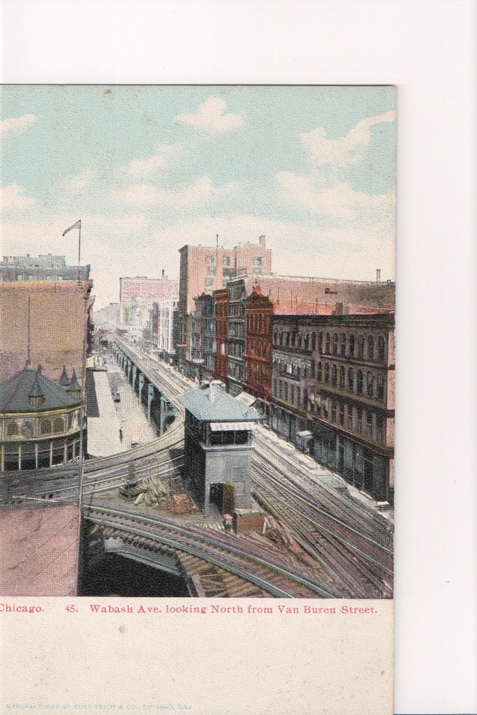 IL, Chicago - Wabash Ave North (ONLY Digital Copy Avail) - C08086