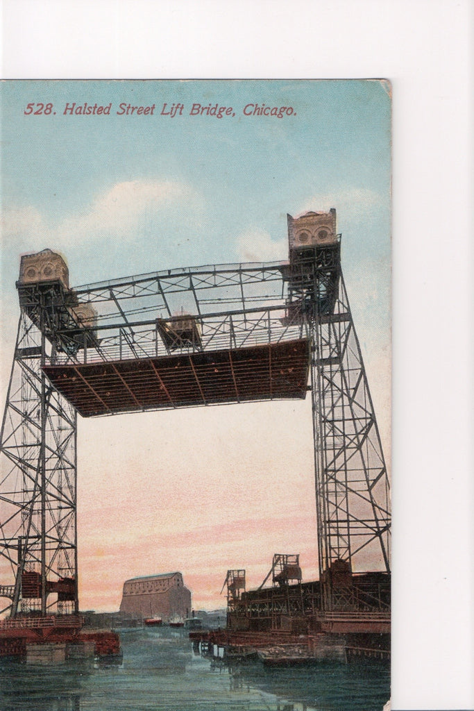 IL, Chicago - Halsted Street Lift Bridge (Only Digital Copy Avail) - C08109