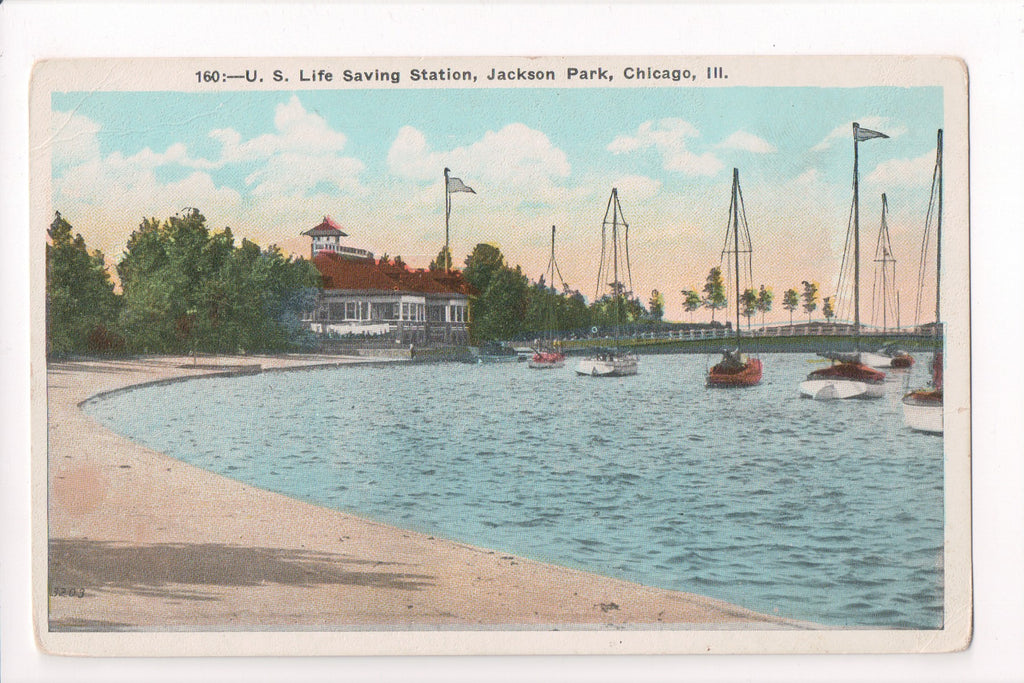 IL, Chicago - Jackson Park, US Life Saving Station (ONLY Digital Copy Avail) - CP0234