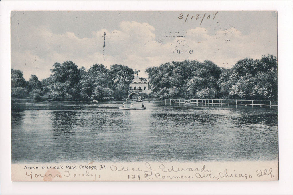 IL, Chicago - Lincoln Park, scene (ONLY Digital Copy Avail) - CP0237
