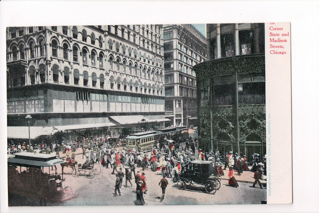 IL, Chicago - State and Madison (ONLY Copy Avail) - CP0240