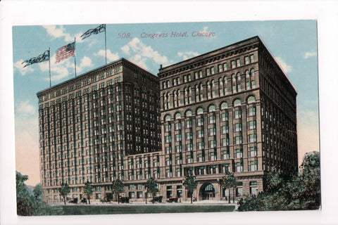 IL, Chicago - Congress Hotel - Acmegraph Co - D05091