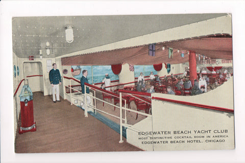 IL, Chicago - Edgewater Beach Hotel, Yacht Club interior - D05092