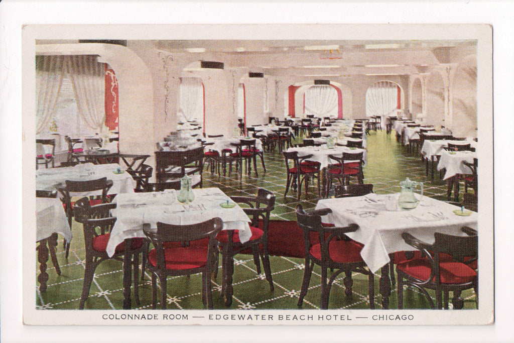 IL, Chicago - Edgewater Beach Hotel, Colonnade Room - SL2605