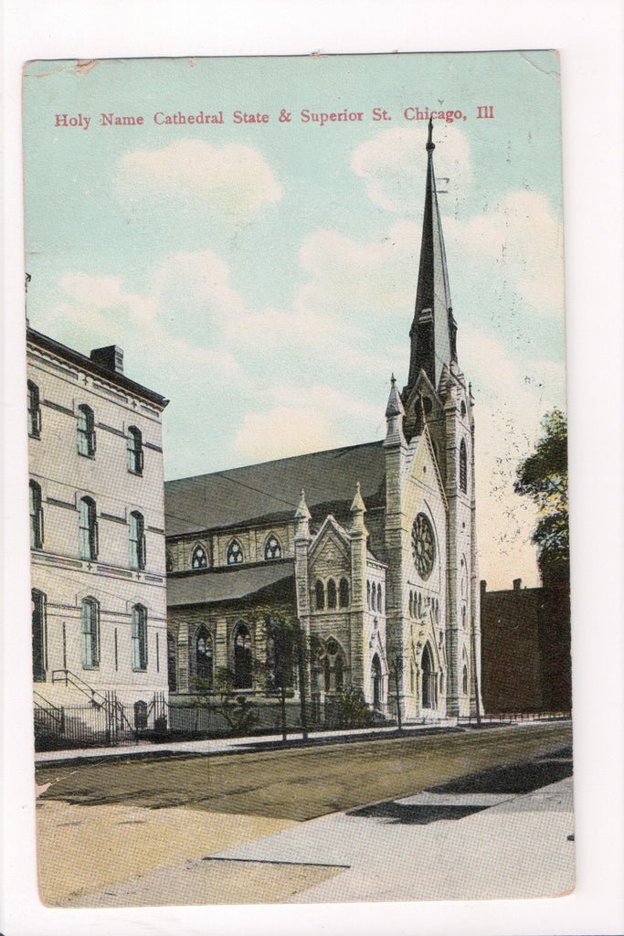 IL, Chicago - Holy Name Cathedral Church - B17268