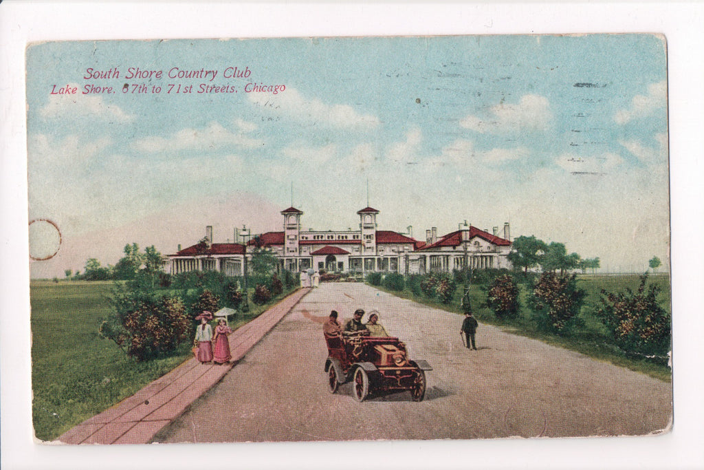 IL, Chicago - South Shore Country Club postcard - B17276