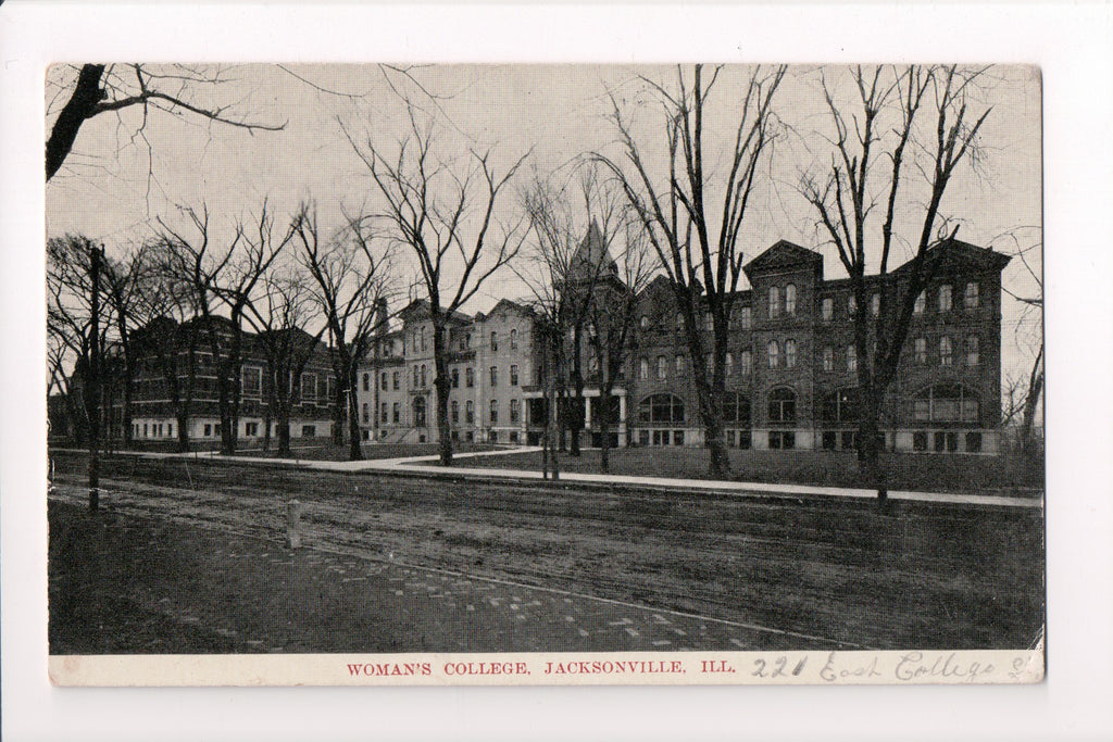 IL, Jacksonville - Womans College postcard - SL2419