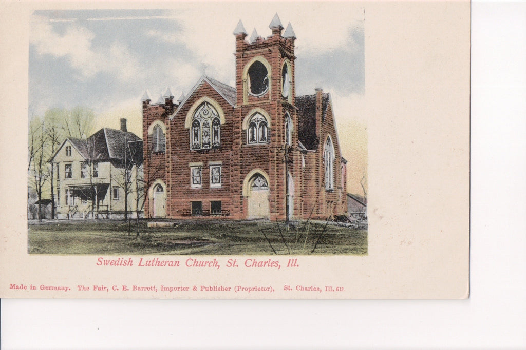 IL, St Charles - Swedish Lutheran Church (ONLY Digital Copy Avail) - B11237
