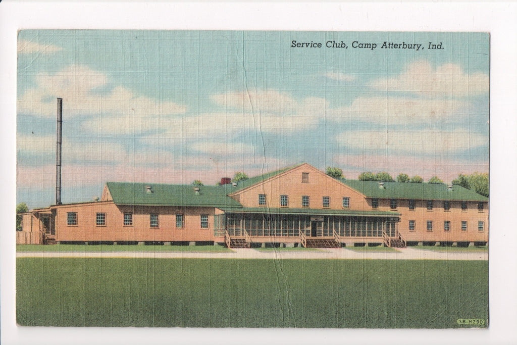 IN, Camp Atterbury - Service Club building (ONLY Digital Copy Avail) - 606110